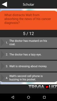 Trivia Quiz for Breaking Bad apk screenshot