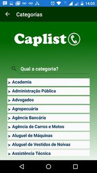 CapList screenshot 3