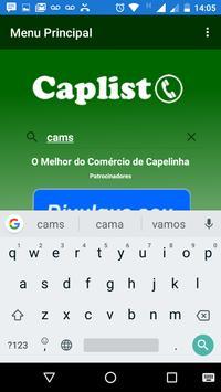 CapList screenshot 4