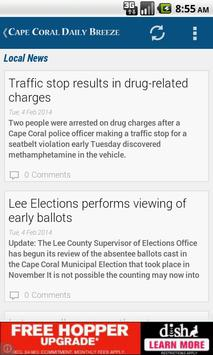 Cape Coral Daily Breeze poster