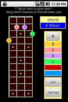 Mandolin Chord Cracker apk screenshot