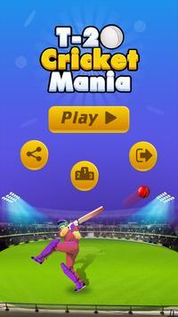 T20 Cricket Mania पोस्टर