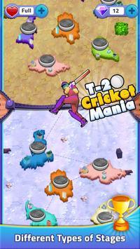 T20 Cricket Mania स्क्रीनशॉट 1