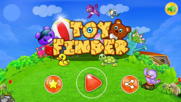 Toy Finder -Best Children Game постер