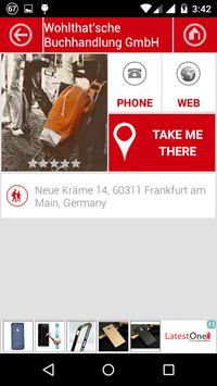Frankfurt City Directory apk screenshot