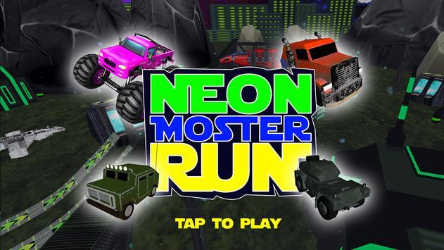 Neon Monster Run poster