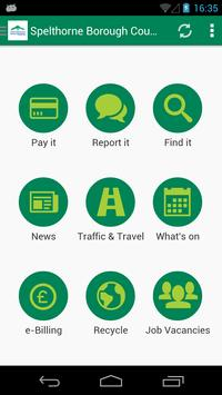 Spelthorne App poster