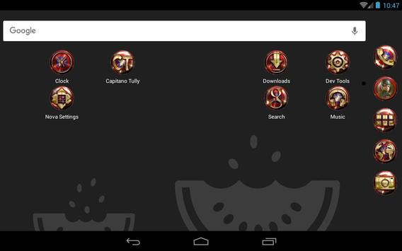 Capitano Tully - Icon Pack apk screenshot