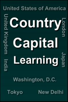 Country Capital learning poster