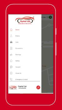 Capital Cab - Partner screenshot 4