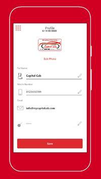 Capital Cab - Partner screenshot 5