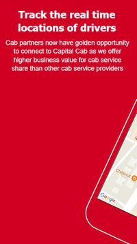 Capital Cab - Partner screenshot 2