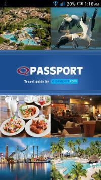 Q Passport poster