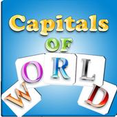 capitals of world icon
