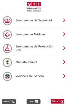 911 Móvil Morelos apk screenshot