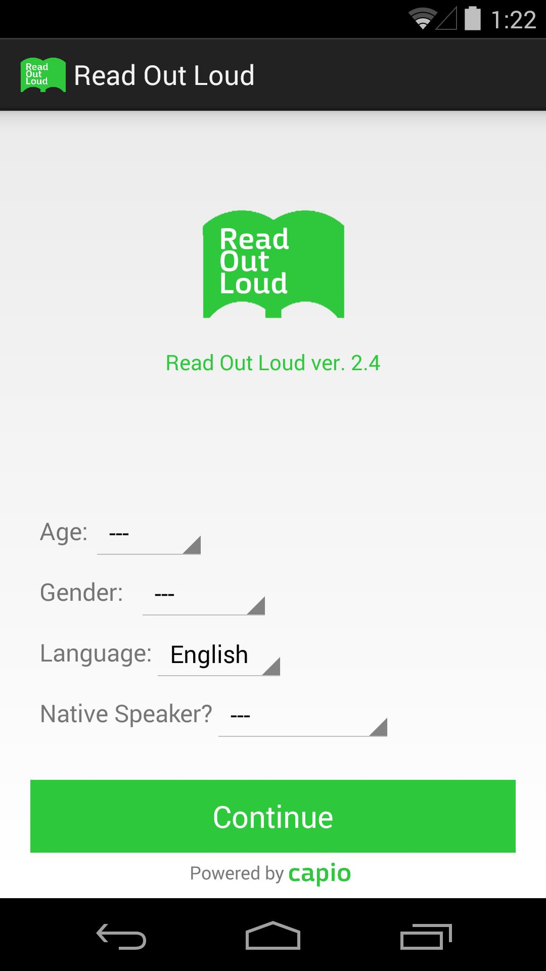 Read Out Loud for Android - APK Download