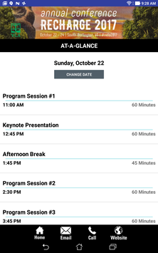 New England Library Conference screenshot 1