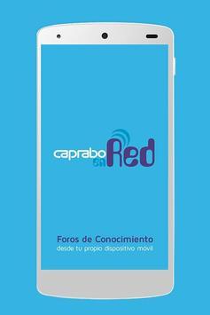Caprabo en Red poster