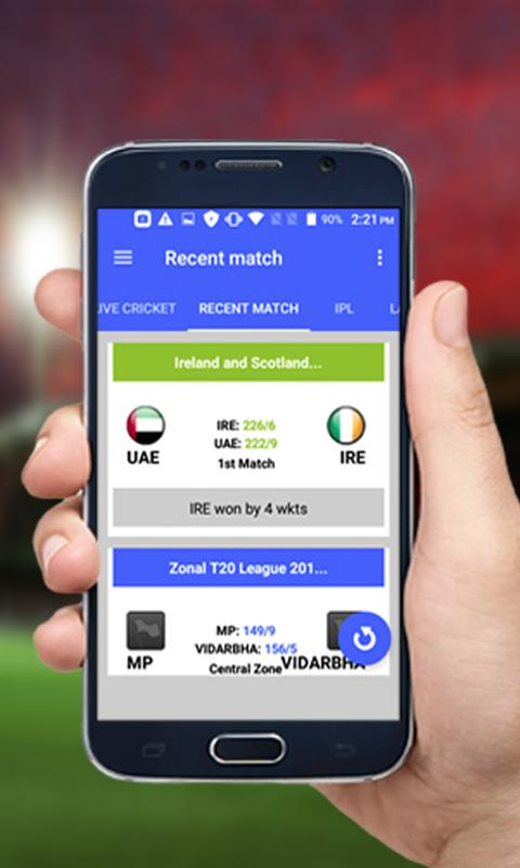 Cricket Live Score & Schedule 2018 for Android - APK Download