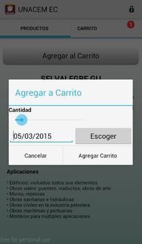 Unacem Pedidos screenshot 3