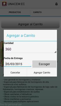 Unacem Pedidos screenshot 2