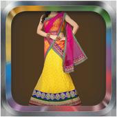 Woman Chaniya Choli Photo Suit icon