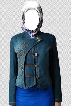 Arab Woman Abayas Photo Suit screenshot 1