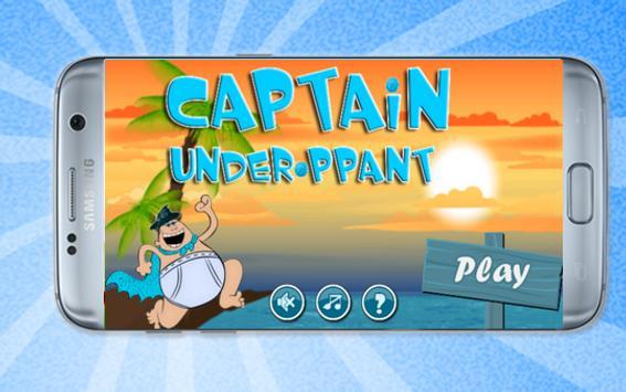 captain undairbants adventure poster