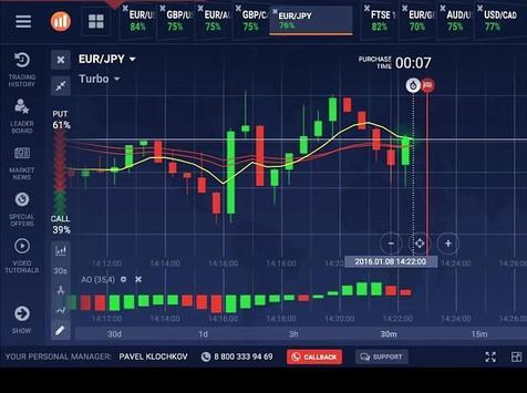 New IQ Option Broker Trade Forex Tips apk screenshot