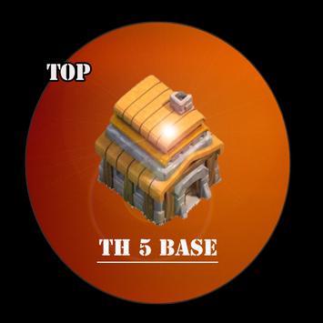 Top Base Maps COC TH 5 screenshot 4