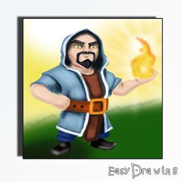 How To Draw Clash Of Clans screenshot 1