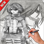 How To Draw Attack on Titan icon
