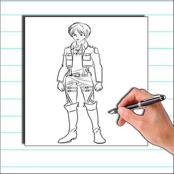 How To Draw Attack on Titan screenshot 5
