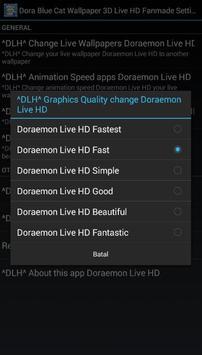 Dora Blue Cat Wallpaper 3D Live HD Fanmade screenshot 3