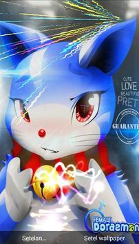 Dora Blue Cat Wallpaper 3D Live HD Fanmade poster
