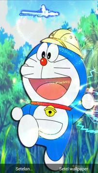Dora Blue Cat Wallpaper 3D Live HD Fanmade screenshot 2