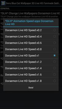 Dora Blue Cat Wallpaper 3D Live HD Fanmade screenshot 7