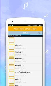 Video Player & Music Player apk screenshot