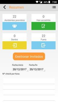 Easy Checkin by Captative screenshot 1