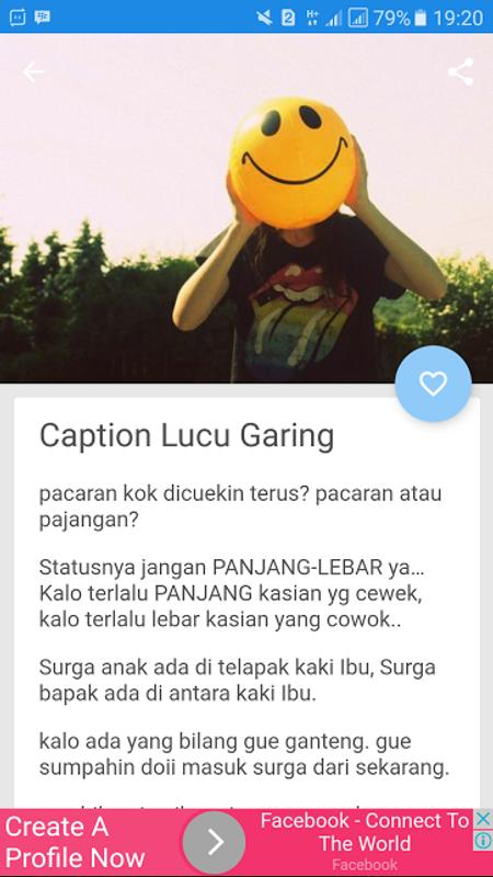 Caption Ig Lucu Keren Gokil For Android Apk Download