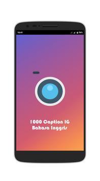 1000 Caption IG Bahasa Inggris poster