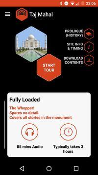 Taj Mahal Audio Guide apk screenshot