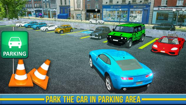 US LTV Training School Game : Car Parking Masters poster