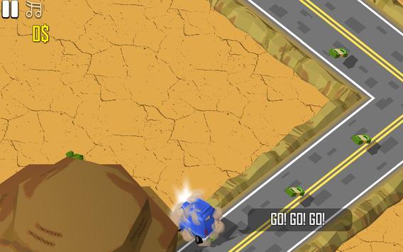 Kıvrımlı Yolda Araba Macerası screenshot 2