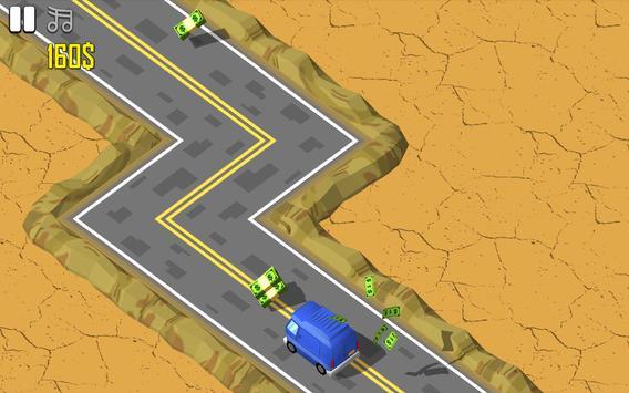 Kıvrımlı Yolda Araba Macerası screenshot 3