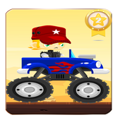 Monster Car:Driving & Jump icon