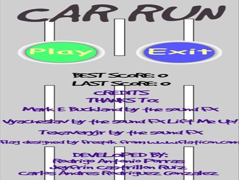 car run apk screenshot