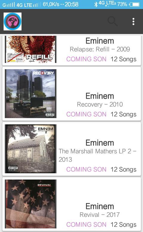 eminem recovery download full album
