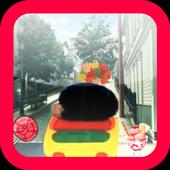 Shin Car Run icon