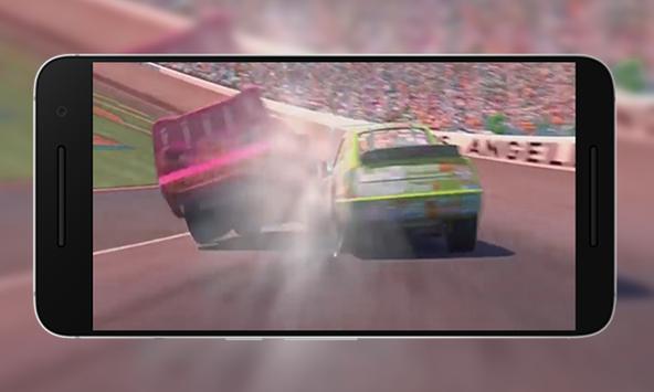 MCQUEEN CAR RACING GAME poster